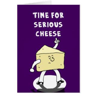 Serious Cheese Card