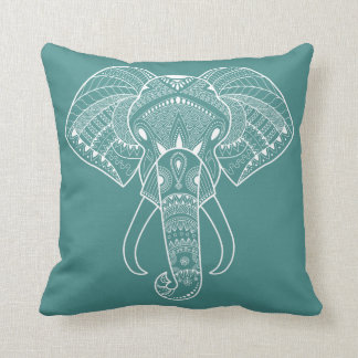 Serious Elephant One Pastel Color Cushion