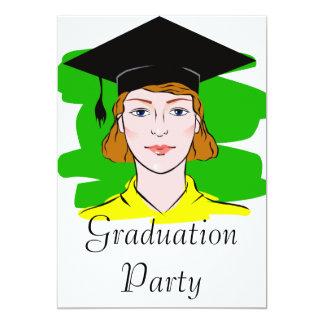 Serious Graduate Announcements