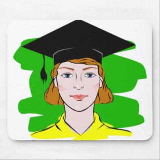 Serious Graduate Mouse Pad