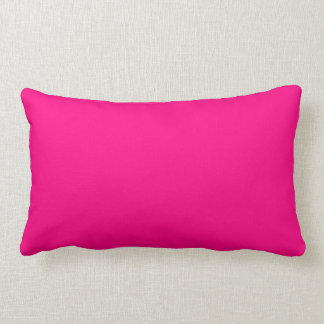 Serious Hot Pink Color Trend Blank Template Pillows