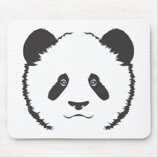 Serious Panda Bear Mouse Pad