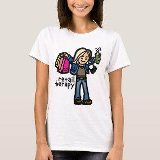 serious shopping shirt. T-Shirt