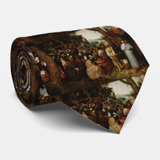 Sermon of St John the Baptist by Pieter Bruegel Tie