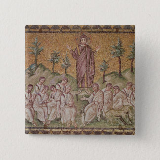 Sermon on the Mount 15 Cm Square Badge