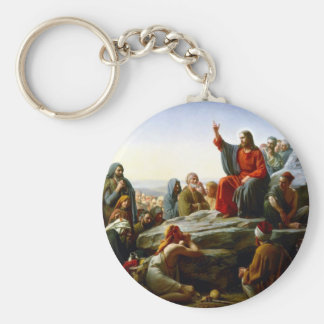 Sermon on the Mount Key Ring