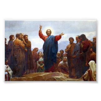 Sermon on the Mount Photo Art