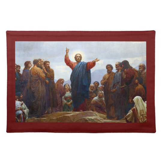 Sermon on the Mount Placemats