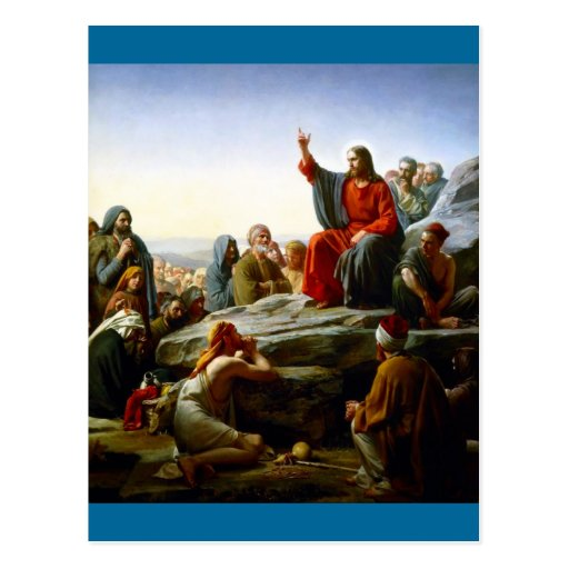 Sermon on the Mount Post Cards