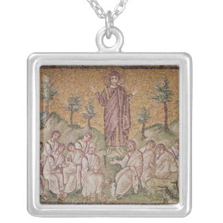 Sermon on the Mount Silver Plated Necklace