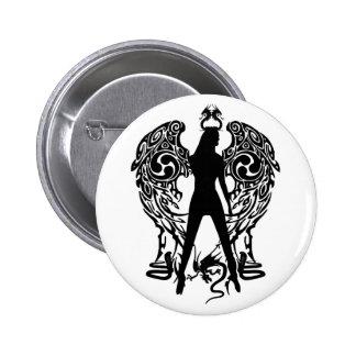 Serpent Angel Button