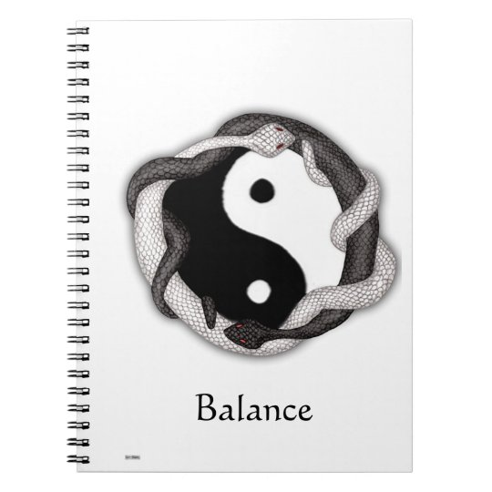 Serpents Dual Spiral Notebook