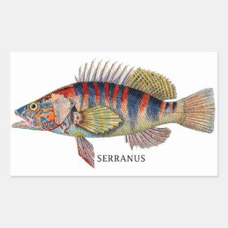 SERRANUS RECTANGULAR STICKER