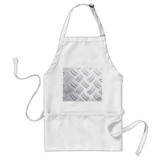 Serrated sheet background standard apron