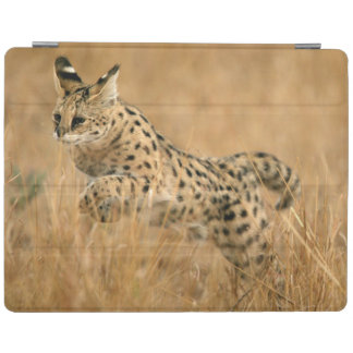 Serval (Leptailurus Serval) Jumping iPad Cover