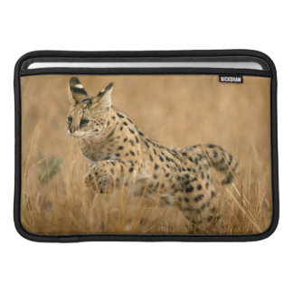 Serval (Leptailurus Serval) Jumping Sleeve For MacBook Air