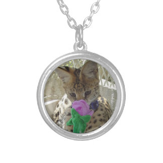 Serval Spring is in the air! Silver Plated Necklace
