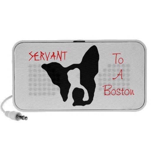 Servant to a Boston speakers Mp3 Speaker