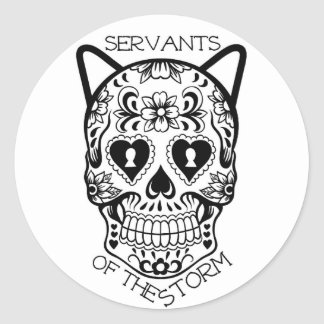 Servants of the Storm sticker