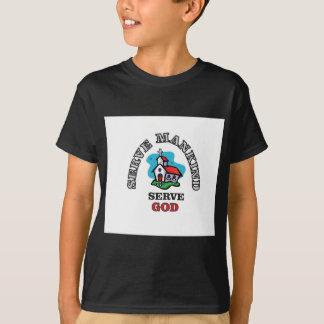 serve god church T-Shirt