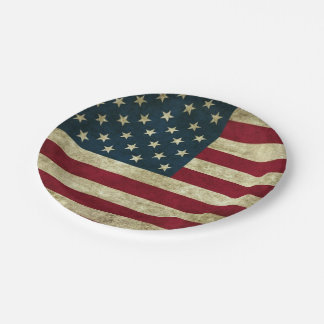 Served With Freedom Paper Plate