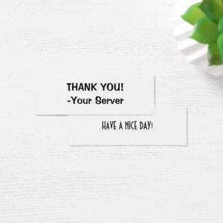 Server Business Cards