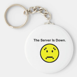 Server is Down Key Chains