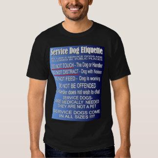 Service Dog Etiquette Shirt