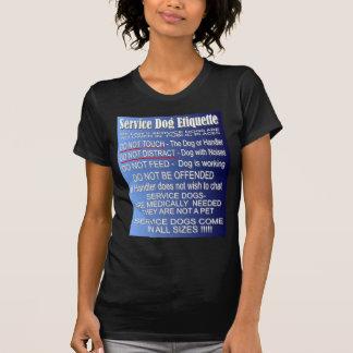 Service Dog Etiquette Shirts