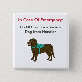 Service Dog ICE Button 1