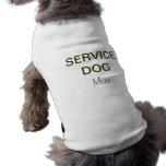 Service Dog Vest Sleeveless Dog Shirt