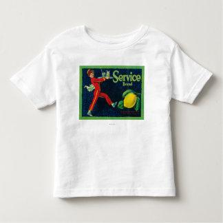 Service Lemon LabelLa Habra, CA Tshirts