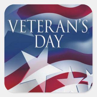 Service Not Forgotten Veterans Day Stickers