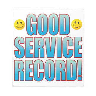 Service Record Life B Notepad