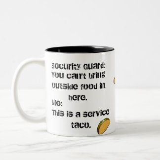 Service Taco Coffee Mug