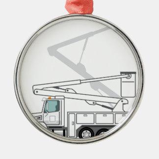 Service Truck Christmas Ornament