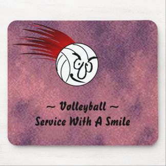 Service With A Smile Mouse Pad
