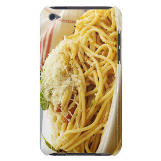 Serving a Bowl of Spaghetti with Tomato Sauce Barely There iPod Cover