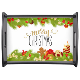 Serving tray for the holidays!