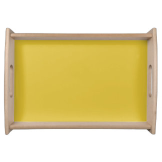 Serving Tray in Freesia Yellow