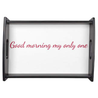 Serving Tray - Love message