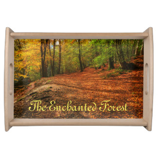 Serving tray Waggoners Wells enchanted forest
