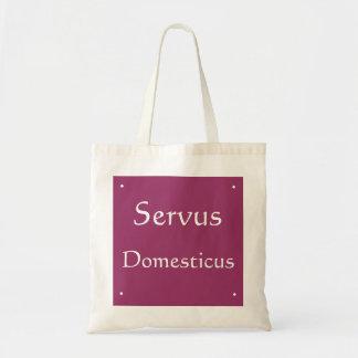 Servus Domesticus Canvas Bags