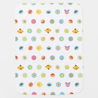 Sesame Pals Character Pattern Baby Blanket
