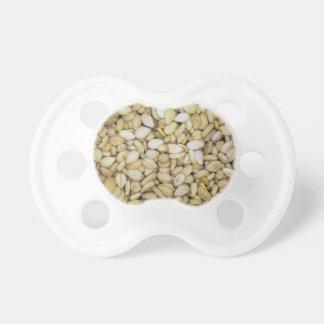Sesame seed macro photo baby pacifiers