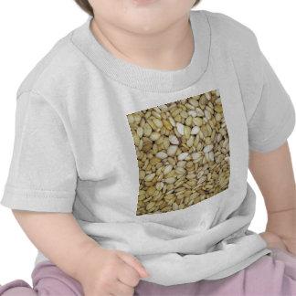 Sesame seed macro photo t-shirts