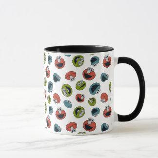 Sesame Street | All Star Team Pattern Mug