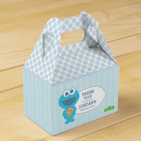Sesame Street   Baby Cookie Monster Favour Box