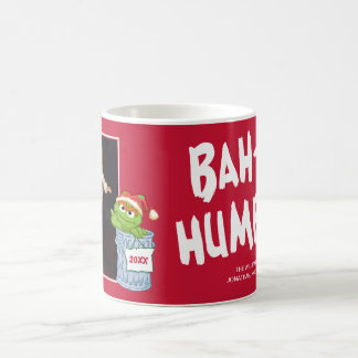 Sesame Street | Bah Humbug Oscar with Photo Coffee Mug