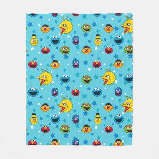 Sesame Street | Best Friends Star Pattern Fleece Blanket
